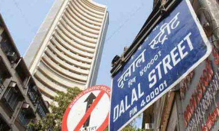 Indian Sensex up 61 points
