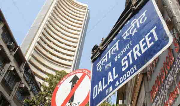 Indian sensex down 27 points