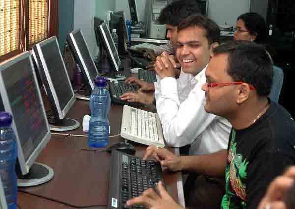 Indian Sensex up 91 points