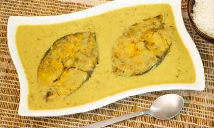 Bengali's favourite fish the delicious 'Sorsebata Ilish Mach'