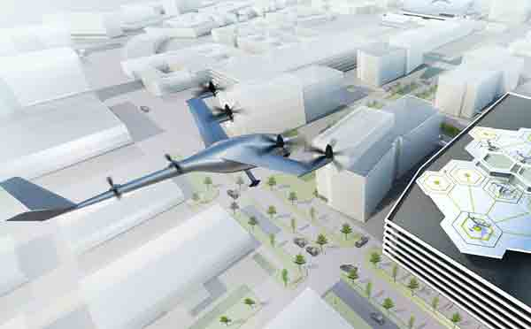 Uber signs contract with Nasa to develop flying taxi software