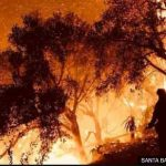 California fire now larger than New York