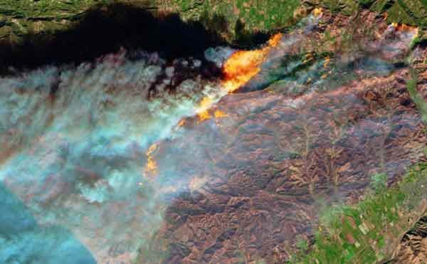 California wildfires 'the new normal'