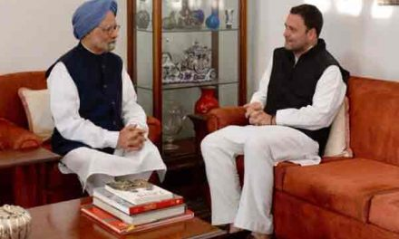 Rahul Gandhi files nomination for party president