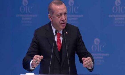 Erdogan: World should recognise Jerusalem as Palestinian capital