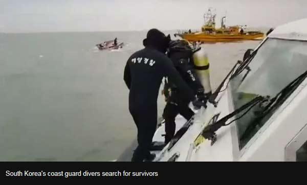 13 dead in S Korea boat crash