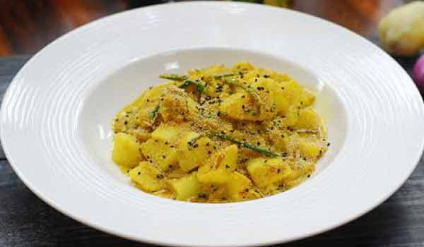 Try the delicious Aloo Posto recipe