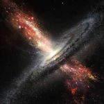 Researchers catch supermassive black hole burping