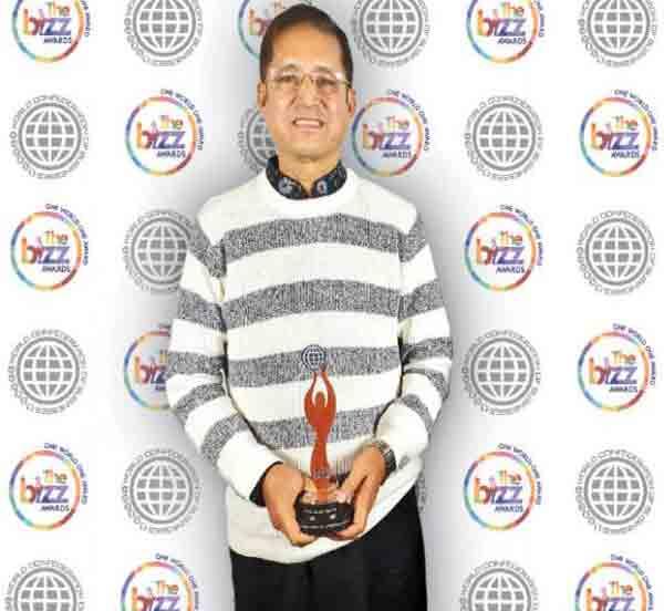 DMCB gets BIZZ AWARD from USA